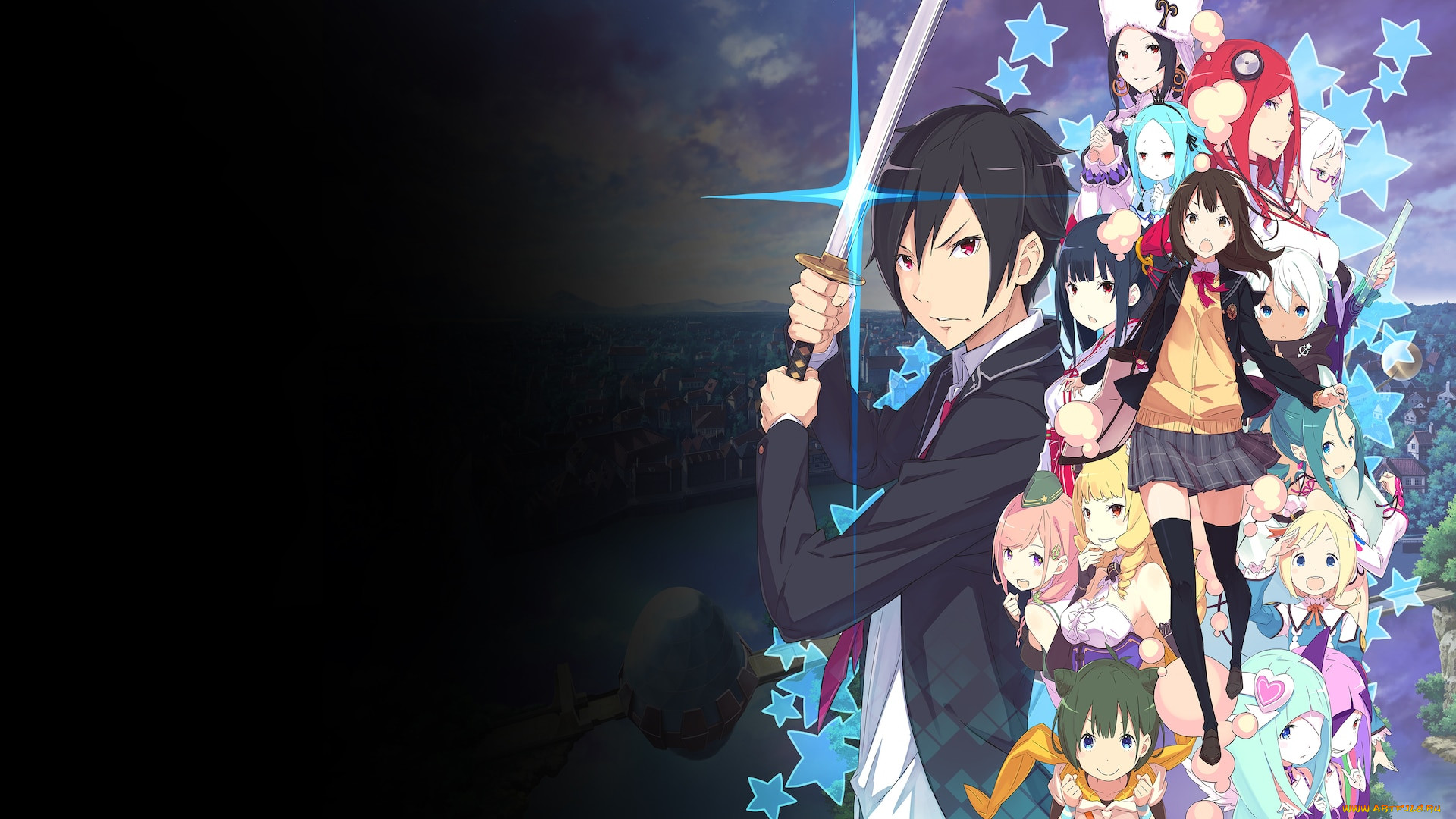 conception plus maidens of the twelve stars, аниме, unknown,  другое , conception, plus, maidens, of, the, twelve, stars